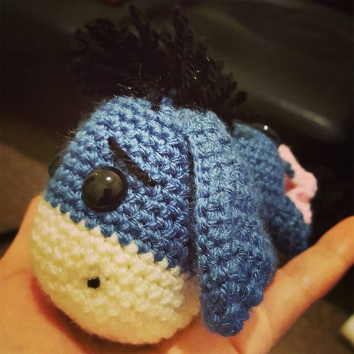 Sabrinas Crochet - Free amigurumi crochet pattern Eeyore ...