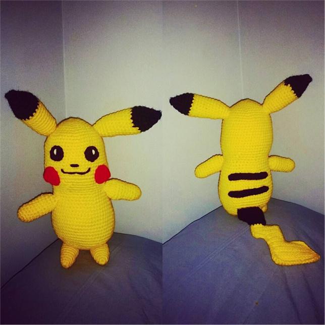 Amigurumi Pokemon Haken : Sabrinas Crochet - Gratis amigurumi haakpatroon Pikachu ...
