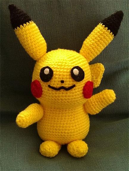 Amigurumi Pokemon Haken : Sabrinas Crochet - Amigurumi Patron gratis Pikachu (Pokemon)