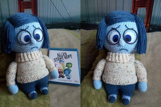 Inside Out Sadness Amigurumi : Sabrinas Crochet - Free amigurumi crochet pattern Sadness ...
