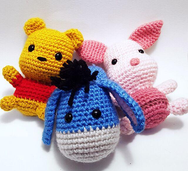 Crochet Amigurumi Eeyore : Sabrinas Crochet - Free amigurumi crochet pattern Winnie ...