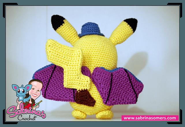 Pokemon Amigurumi Deutsch : Sabrinas Crochet - Pikachu Halloween (Pokemon)