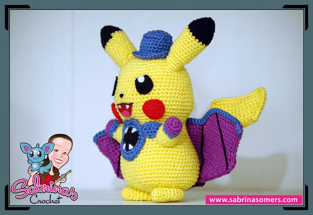 Sabrinas Crochet - Pikachu Halloween (Pokemon)