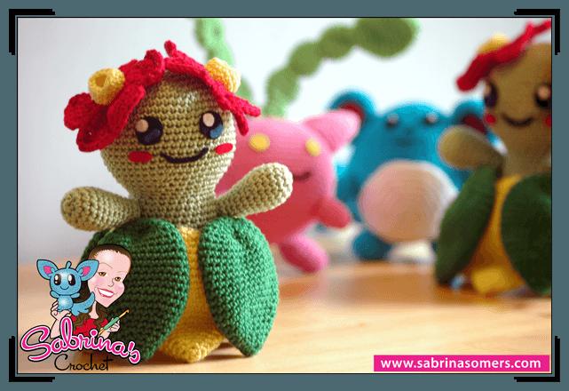 Pokemon Amigurumi Deutsch : Sabrinas Crochet - Free crochet pattern Bellossom (Pokemon)