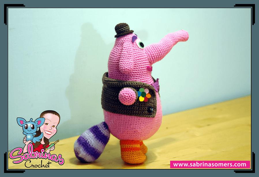 Inside Out Amigurumi Patterns : Sabrinas Crochet - Bing Bong Amigurumi (Inside Out)