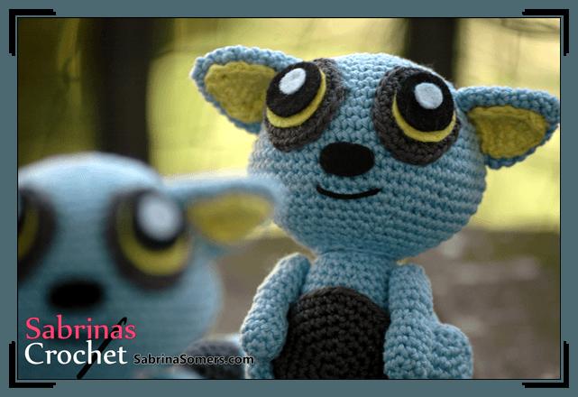 Sabrinas Crochet - Blue Lemur Amigurumi