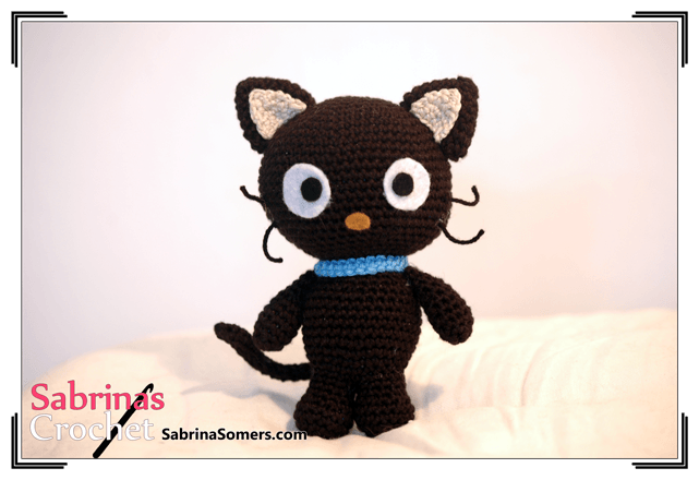 Chococat - Sanrio - Hello Kitty - Free crochet pattern - Amigurumi