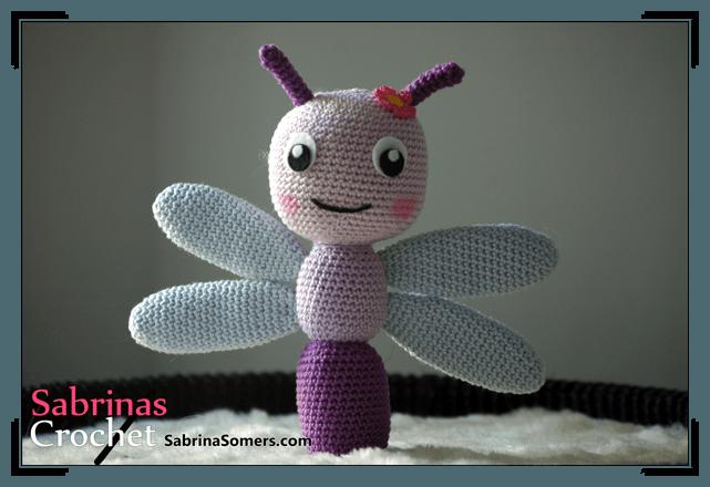 Amigurumi Dragonfly : Sabrina s crochet dragonfly