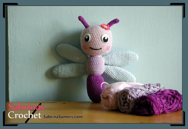 Amigurumi Dragonfly : Sabrina s crochet free pattern dragonfly