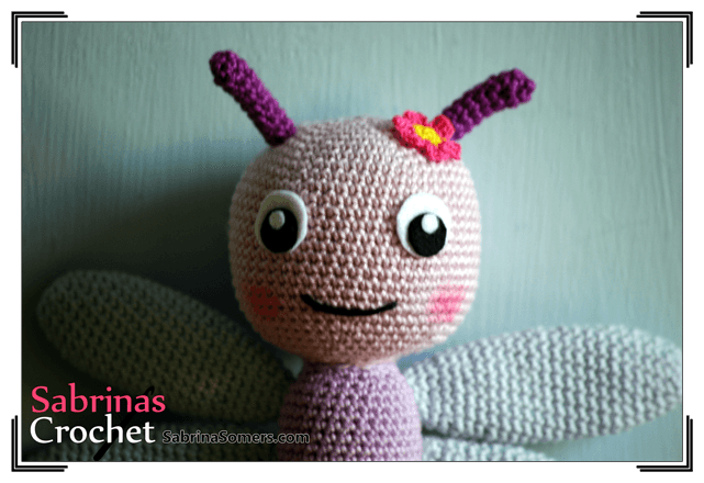 Sabrinas Crochet - Free crochet pattern Dragonfly