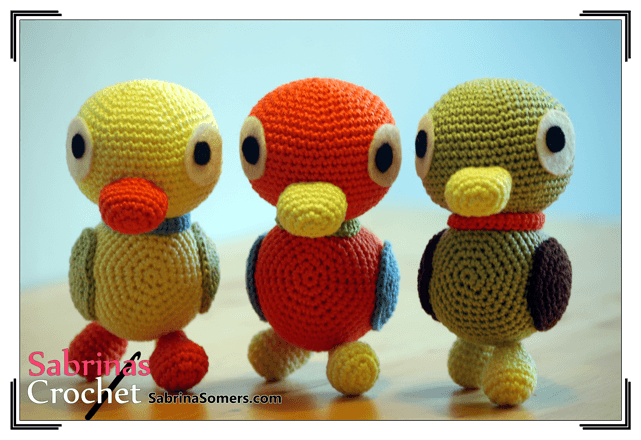 Sabrinas Crochet - Duckies Amigurumi (Sanrio)
