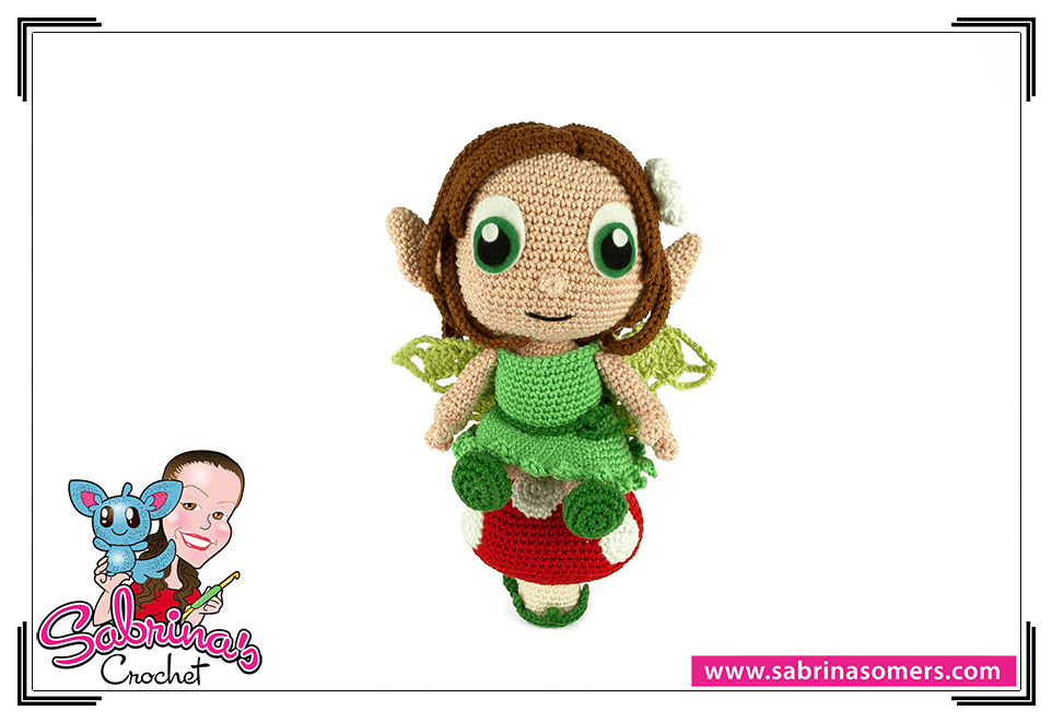 Earth Fairy - Crochet Pattern - Amigurumi