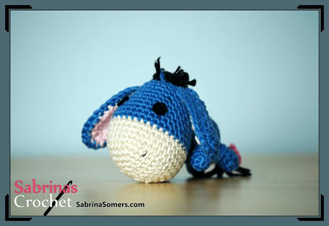 Patron Amigurumi Eeyore : Sabrinas Crochet - Eeyore Amigurumi(Winnie the Pooh)