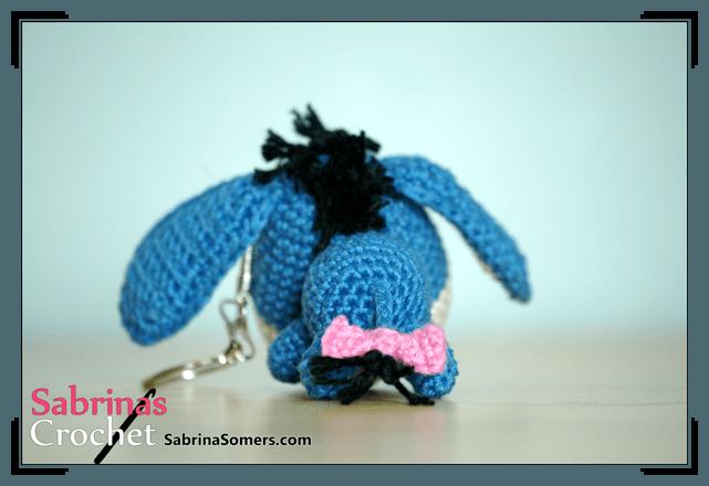Crochet Amigurumi Eeyore : Sabrinas Crochet - Eeyore Amigurumi(Winnie the Pooh)