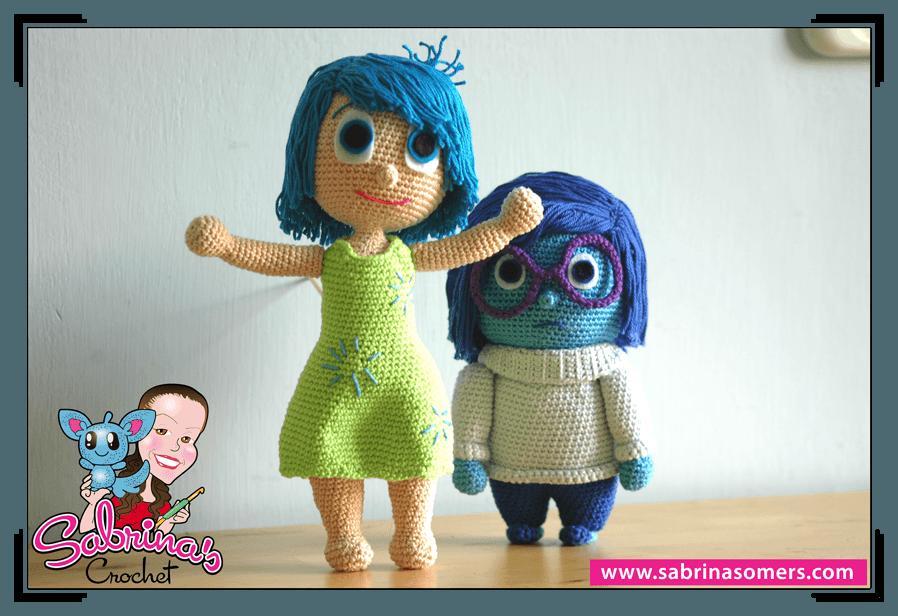 Amigurumi Groot Patron : Sabrinas Crochet - Joy Amigurumi (Inside Out)