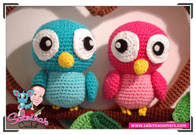 Amigurumi Crochet Animal Patterns : Sabrinas Crochet - Love Birds