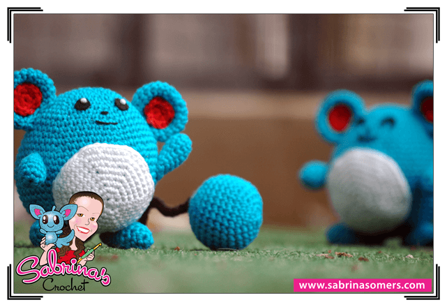 Amigurumi Tutorial Pokemon : Sabrinas Crochet - Free crochet pattern Marill (Pokemon)