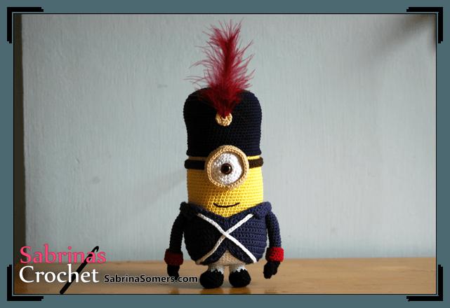 Amigurumi Minion Morado Patron : Sabrinas Crochet - Minion Amigurumi