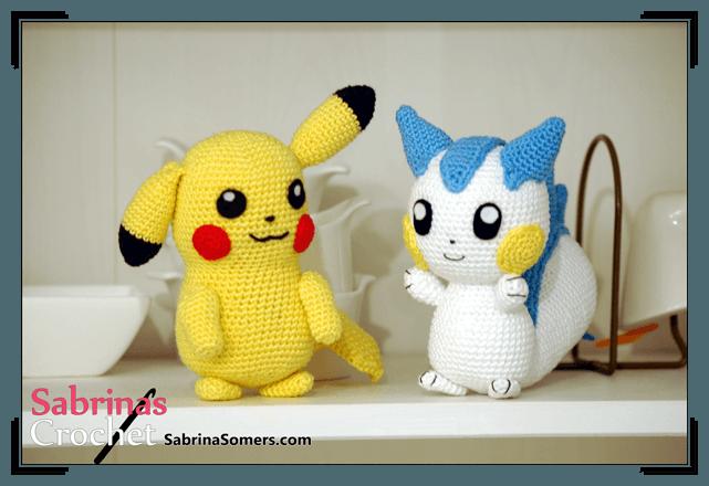 Amigurumi Patrones De Pokemon : Sabrinas Crochet - Free crochet pattern Pachirisu ...