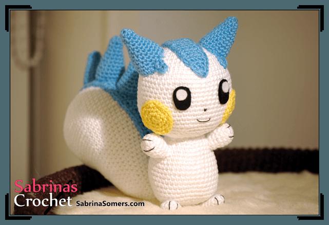 Amigurumi Pokemon Haken : Sabrinas Crochet - Free crochet pattern Pachirisu ...