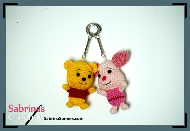 Amigurumi Winnie Pooh Patron Gratis : Sabrinas Crochet - Piglet Amigurumi(Winnie the Pooh)