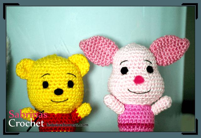 Winnie The Pooh And Friends Amigurumi : Sabrinas Crochet - Piglet Amigurumi(Winnie the Pooh)