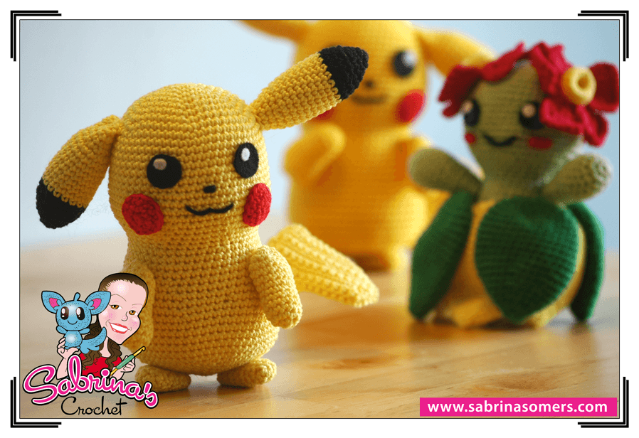 Amigurumi Free Patterns Bear : Sabrinas Crochet - Amigurumi Patron gratis Pikachu (Pokemon)