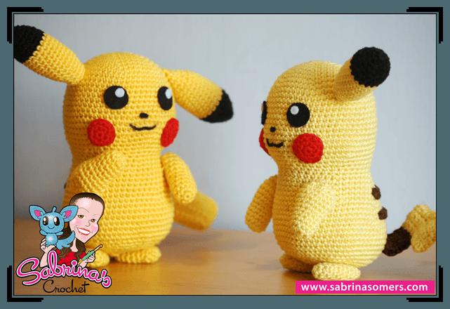 Amigurumi Patterns Pikachu : Sabrina's crochet free amigurumi crochet pattern pikachu pokemon