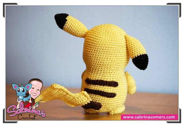Amigurumi Pokemon Patterns Free : Sabrina s crochet free amigurumi crochet pattern pikachu pokemon