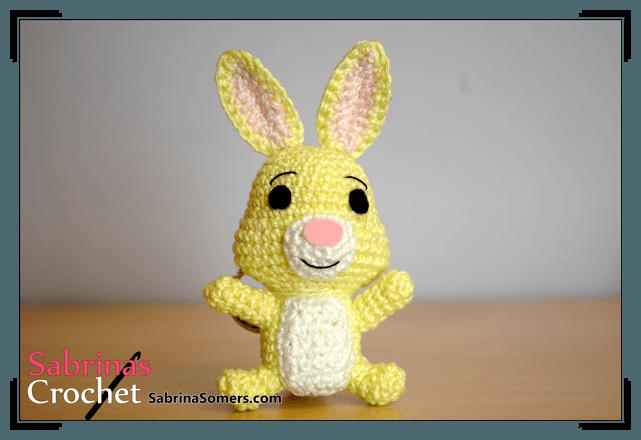 Rabbit - Winnie the Pooh - Free Crochet Pattern - Amigurumi