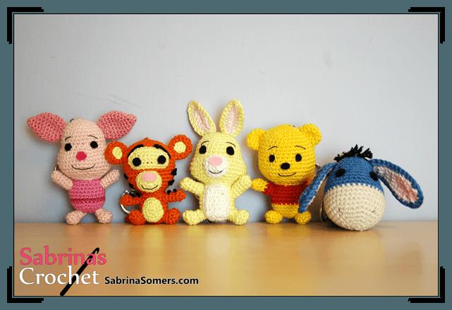 Winnie The Pooh And Friends Amigurumi : Sabrinas Crochet - Rabbit Amigurumi (Winnie the Pooh)