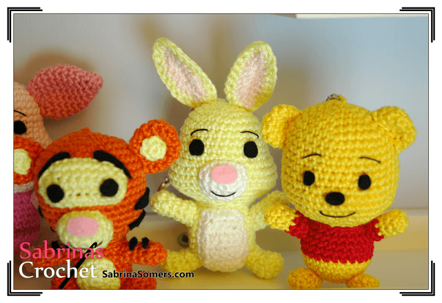 Free Crochet Disney Amigurumi Patterns : Sabrinas Crochet - Rabbit Amigurumi (Winnie the Pooh)