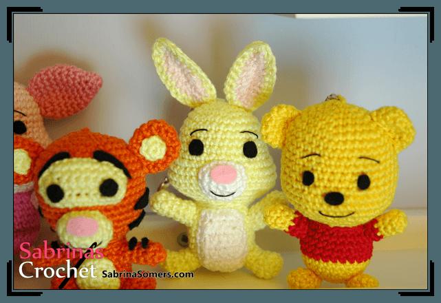 Crochet Amigurumi Eeyore : Sabrinas Crochet - Rabbit Amigurumi (Winnie the Pooh)