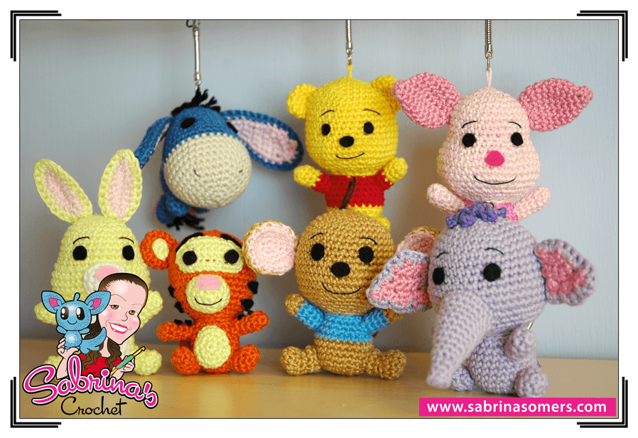 Winnie The Pooh Amigurumi Tutorial : Sabrinas Crochet - Roo Amigurumi (Winnie the Pooh)