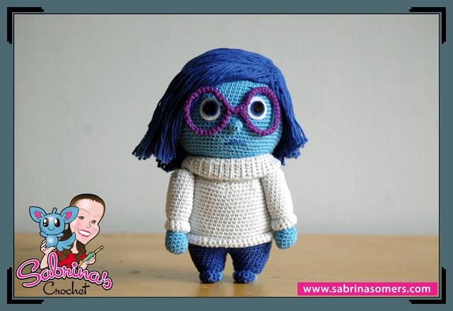 Sabrinas Crochet - Free amigurumi crochet pattern Sadness ...