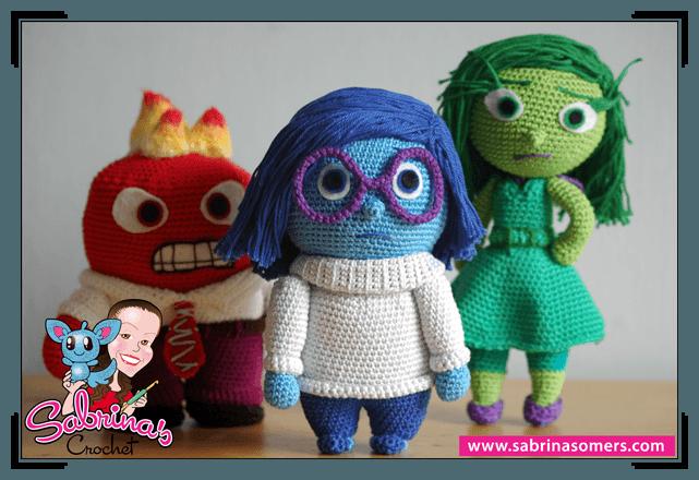 Do You Turn Amigurumi Inside Out : Sabrinas Crochet - Free crochet pattern Sadness (Inside ...