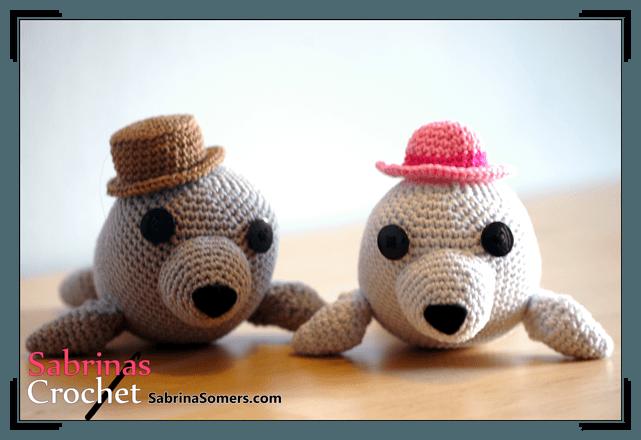 Crochet Amigurumi Seal : Sabrinas Crochet - Seal Amigurumi