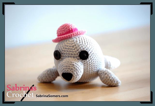 Free Crochet Amigurumi Seal Pattern : Sabrinas Crochet - Kostenlose hakelanleitung Seehund