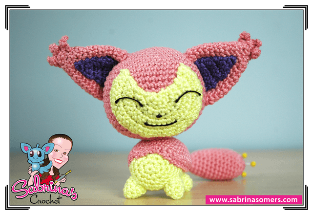 Skitty - Pokemon - Gratis Haakpatroon - Amigurumi