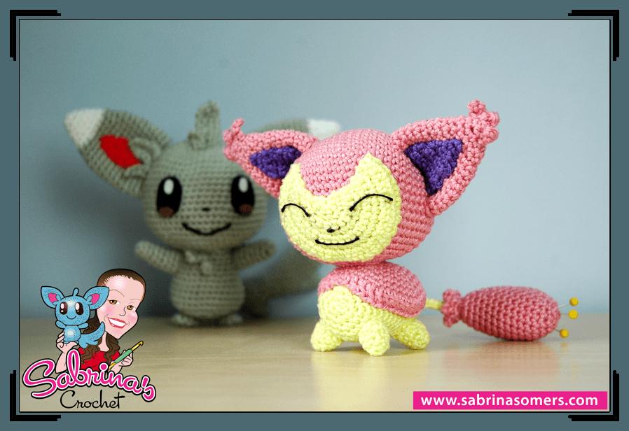Amigurumi Pokemon Free Pattern : Sabrinas Crochet - Free amigurumi crochet pattern Skitty ...