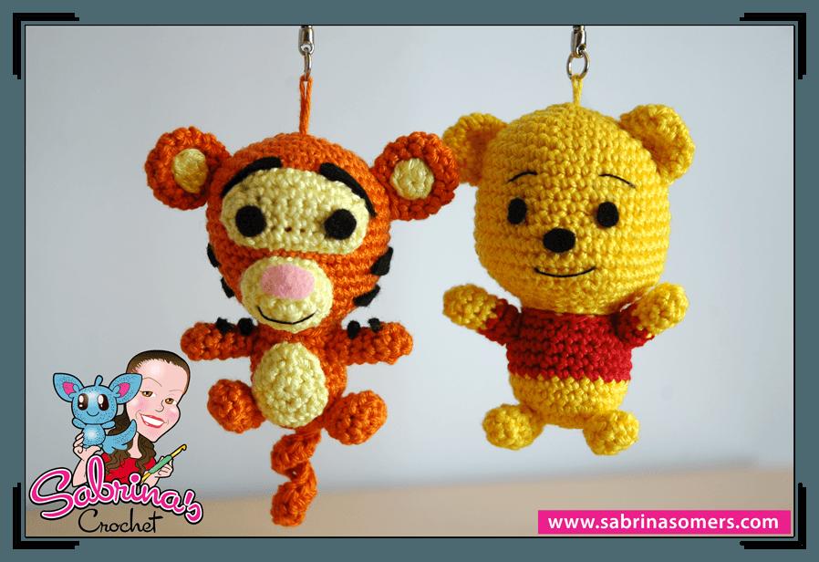 Lujoso Patrón Tigger Crochet Galería - Ideas de Patrones de Costura ...