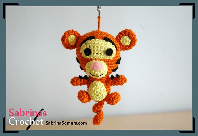 Sabrinas Crochet - Tigger Amigurumi (Winnie the Pooh)