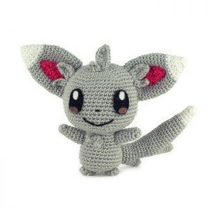 Crochet pattern Minccino - Pokemon - Amigurumi