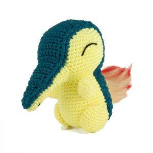 Crochet pattern Cyndaquil