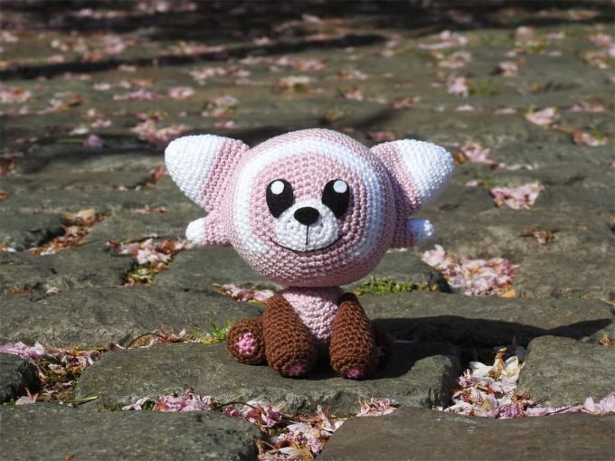 Haakpatroon Stufful - Pokemon - Amigurumi