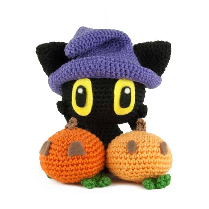 Patron au crochet Chat Sorcier