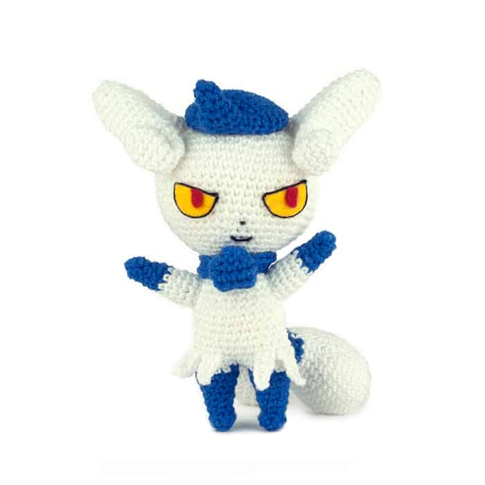 Haakpatroon Meowstic - Pokemon - Amigurumi
