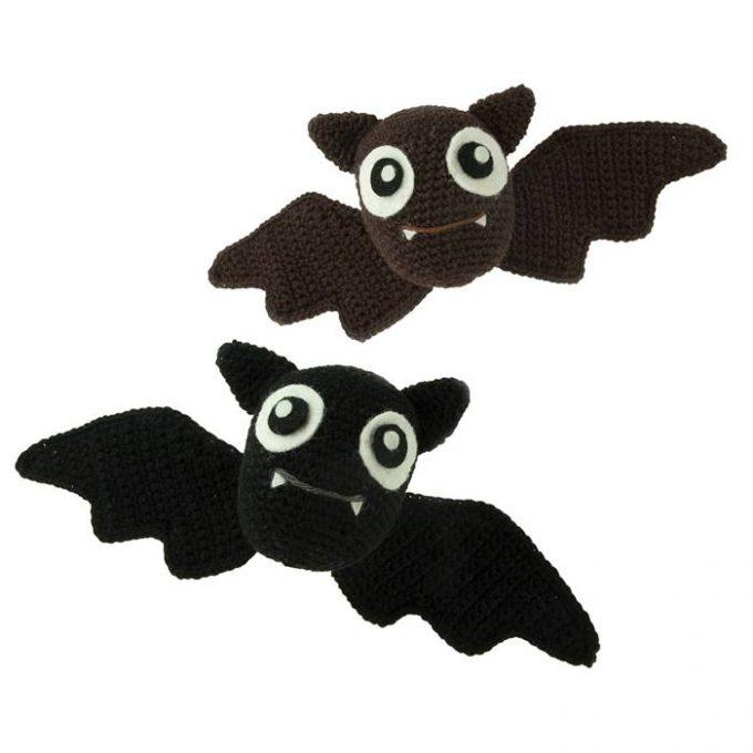 Häkelanleitung Fledermäuse