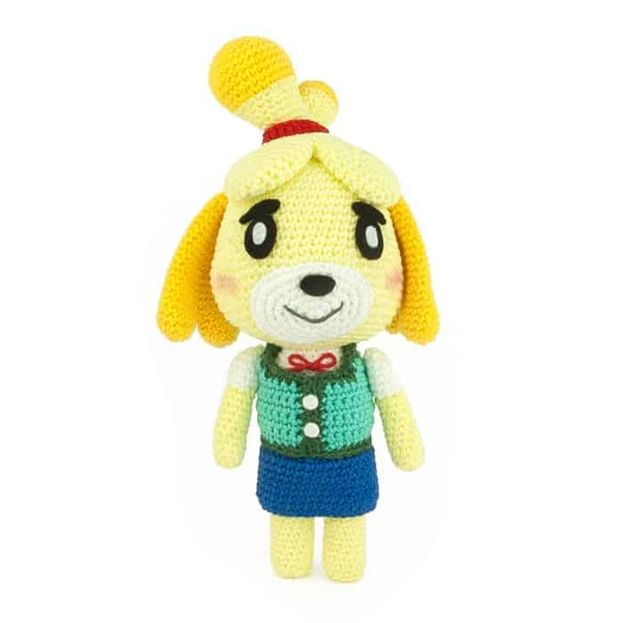 Hæklemønster Isabelle - Animal Crossing