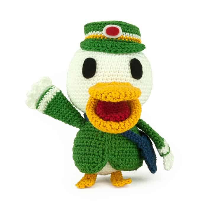 Patron au crochet Antoine - Animal Crossing - Amigurumi